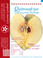 Quittensaft 0,7 l